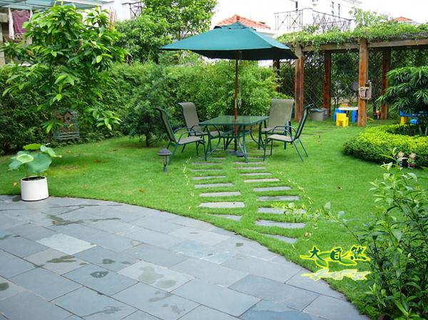 私家庭院景观设计竹子