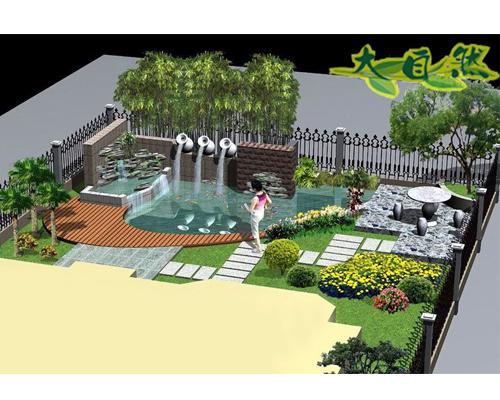 假树制作,别墅庭院 假山,庭院设计,假树