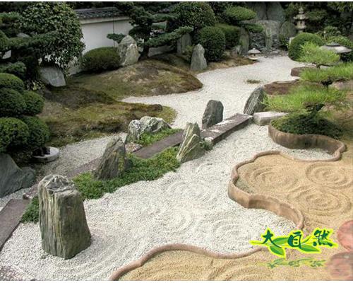 日式枯水景观:一沙一世界,一石一天堂