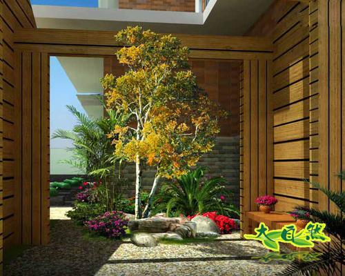 小庭院景观设计图_小庭院景观设计图分享展示